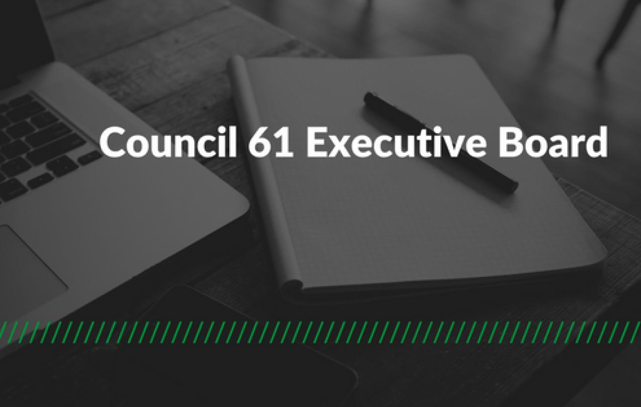 AFSCME Council 61 Executive Board